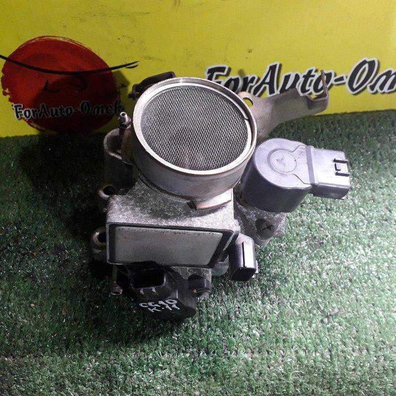 Заслонка дроссельная Nissan Cube FHK11 CG10-DE (б/у)