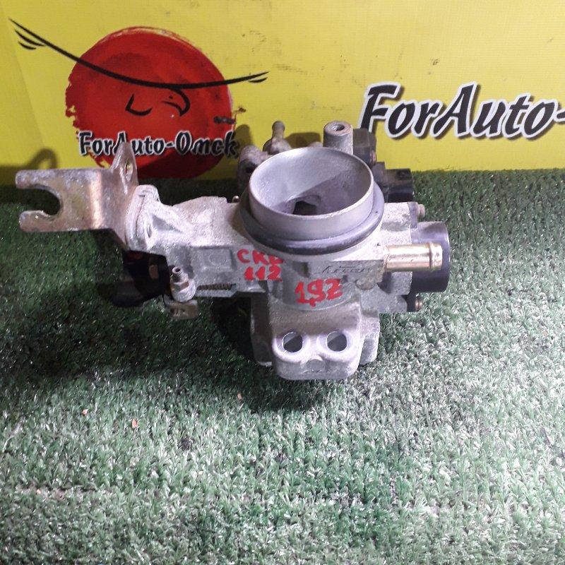Заслонка дроссельная Toyota Platz SCP11 1SZ-FE 2000 (б/у)