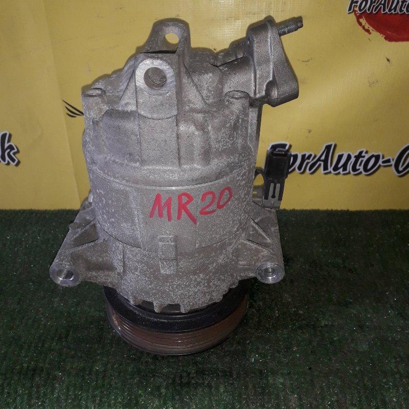 Компрессор кондиционера Nissan Dualis J10 MR20-DE (б/у)