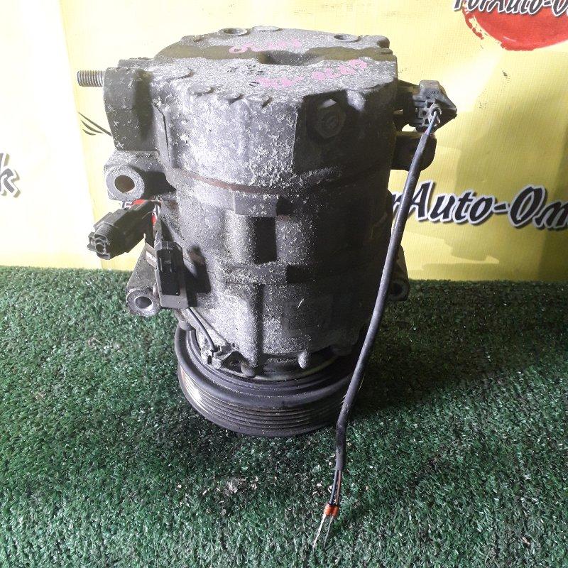 Компрессор кондиционера Nissan Avenir NT30 QR20-DD (б/у)