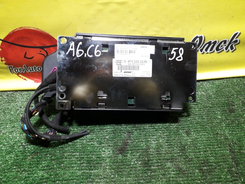 Усилитель магнитофона Audi A6 C6 AUK 2005 (б/у)