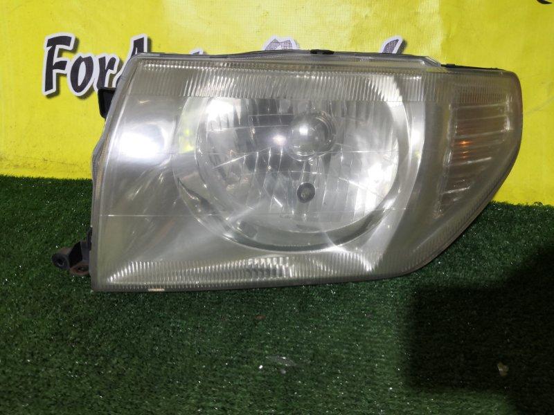 Фара Mitsubishi Pajero Io H61W левая (б/у)