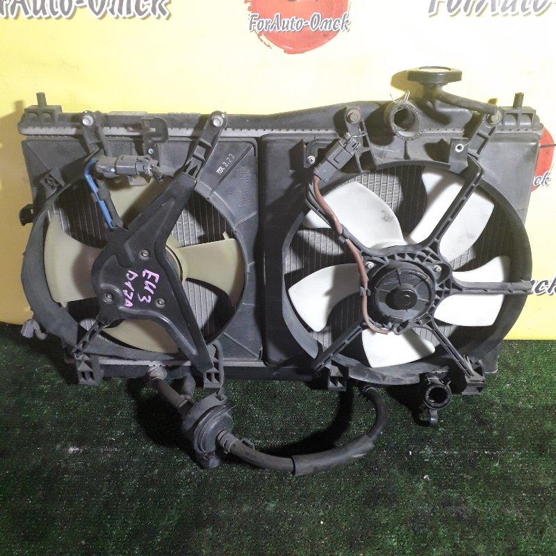 Радиатор двс Honda Civic EU3 D17A (б/у)