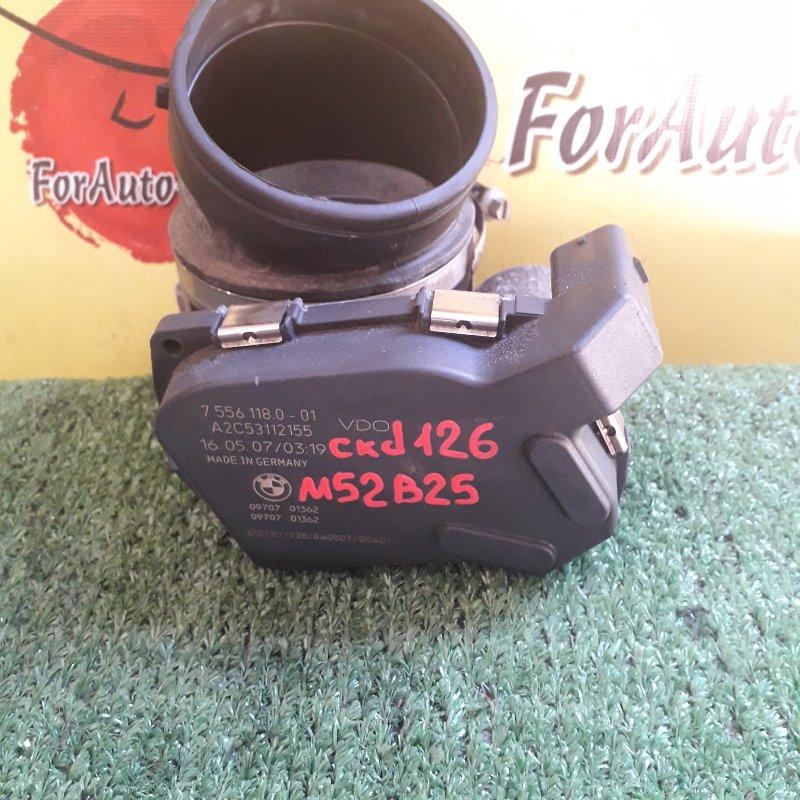 Заслонка дроссельная Bmw 3-Series E90 N52B25 2007 (б/у)