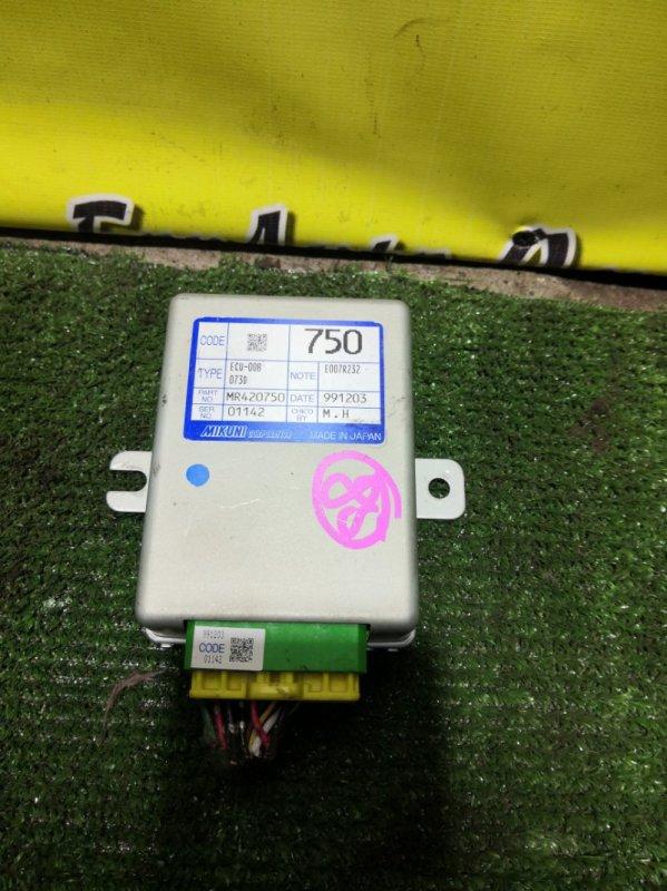 Блок управления акселератором Mitsubishi Legnum EA3W 4G64 2000 (б/у)
