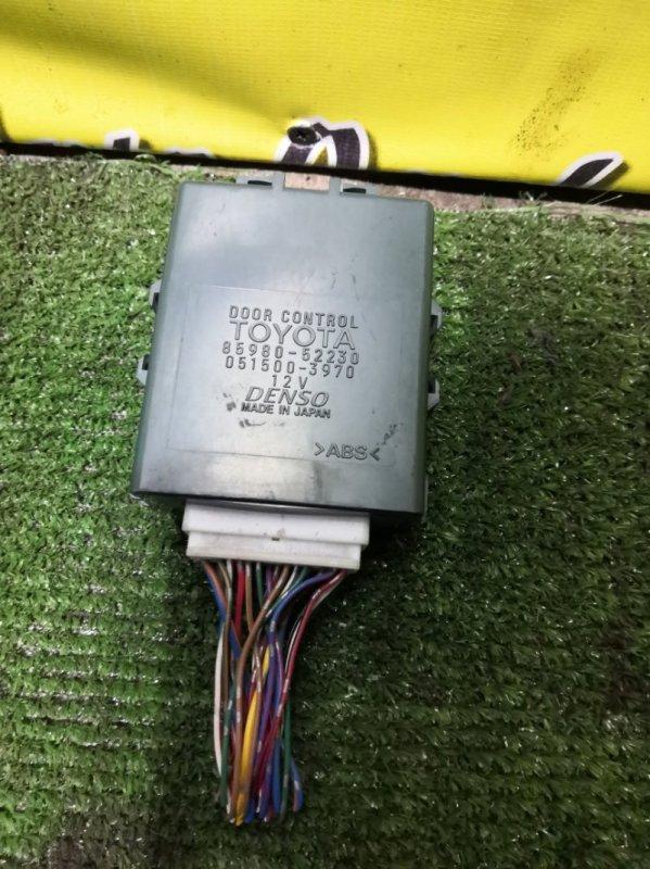 Блок электронный Toyota Vitz SCP13 2SZ-FE 2003 (б/у)