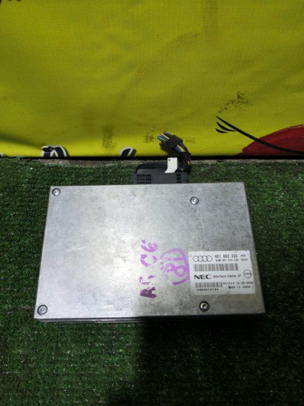 Блок управления телефоном Audi A6 C6 AUK 2005 (б/у)