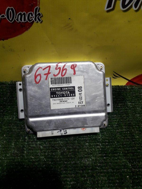 Блок управления efi Toyota Voltz ZZE138 1ZZ-FE 2002 (б/у)