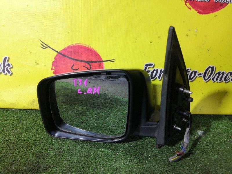 Зеркало Nissan Xtrail DNT31 левое (б/у)