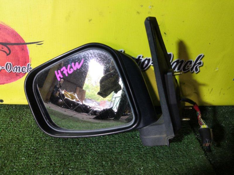 Зеркало Mitsubishi Pajero Io H71W левое (б/у)