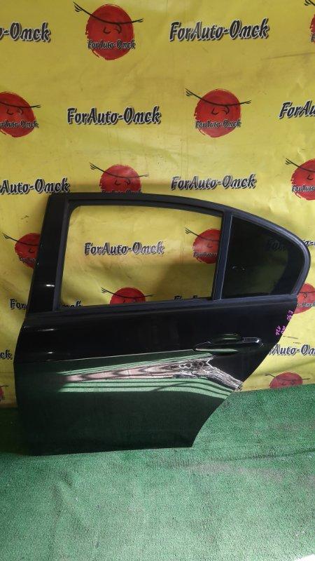 Дверь Bmw 3-Series E90 N52B25 2007 задняя левая (б/у)