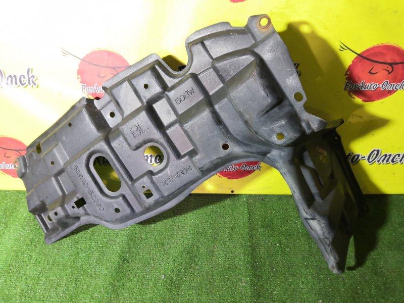 Защита двигателя Toyota Vitz NCP131 передняя левая (б/у)