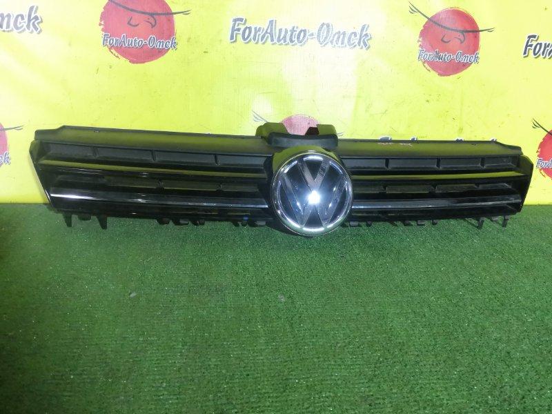 Решетка радиатора Volkswagen Golf 5G1 (б/у)