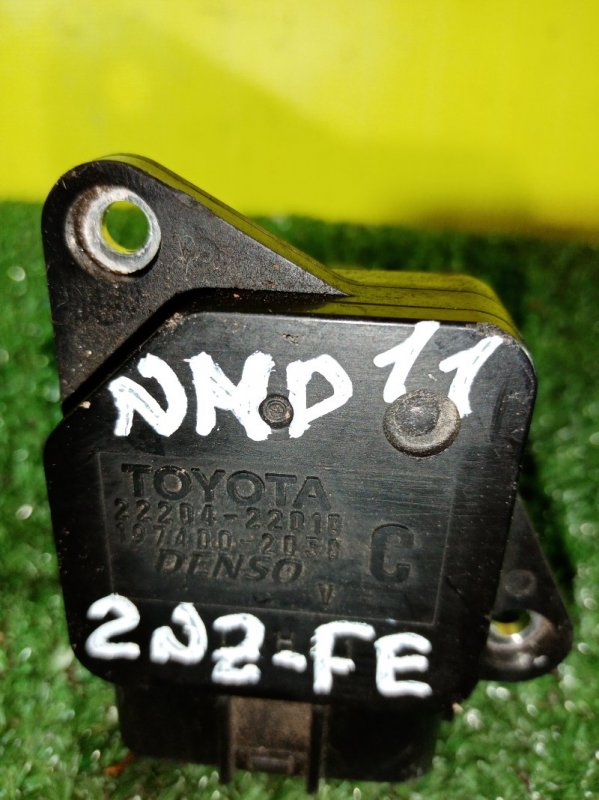 Датчик расхода воздуха Toyota Porte NNP10 (б/у)