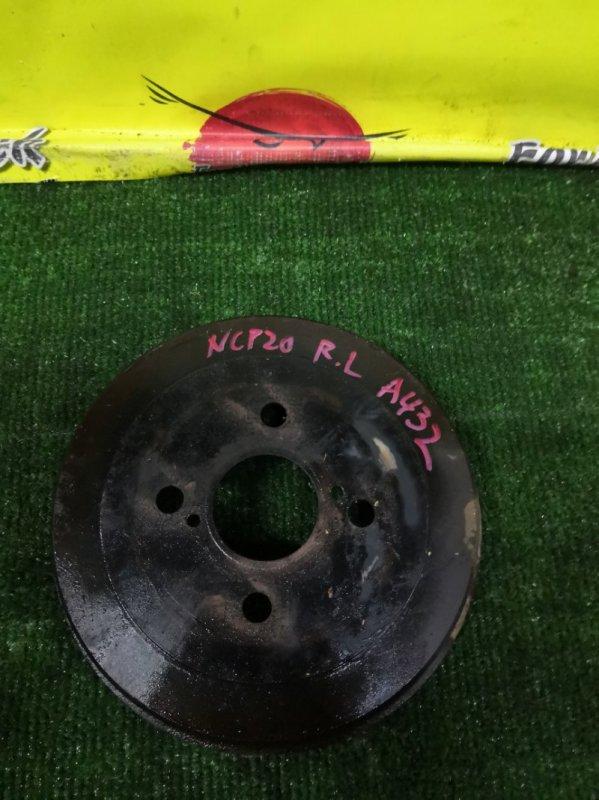 Барабан тормозной Toyota Bb NCP20 задний (б/у)