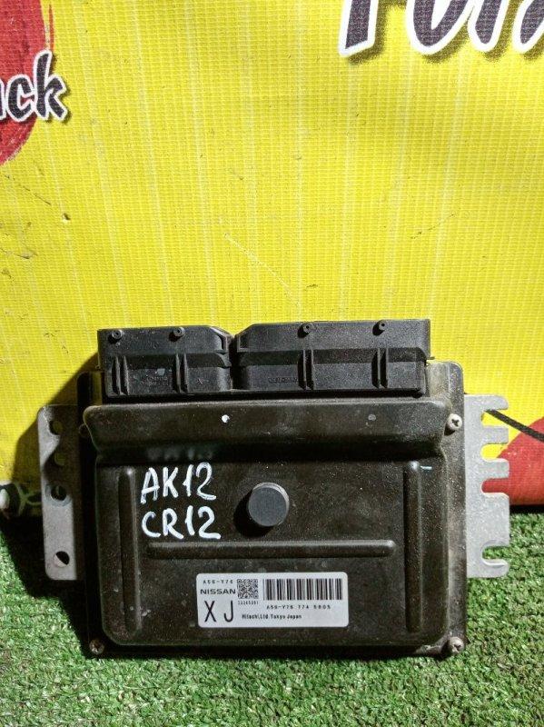 Блок управления efi Nissan March AK12 CR12 (б/у)