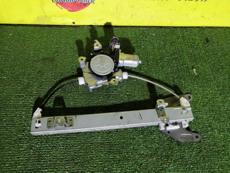 Стеклоподъемник Nissan Xtrail DNT31 задний правый (б/у)