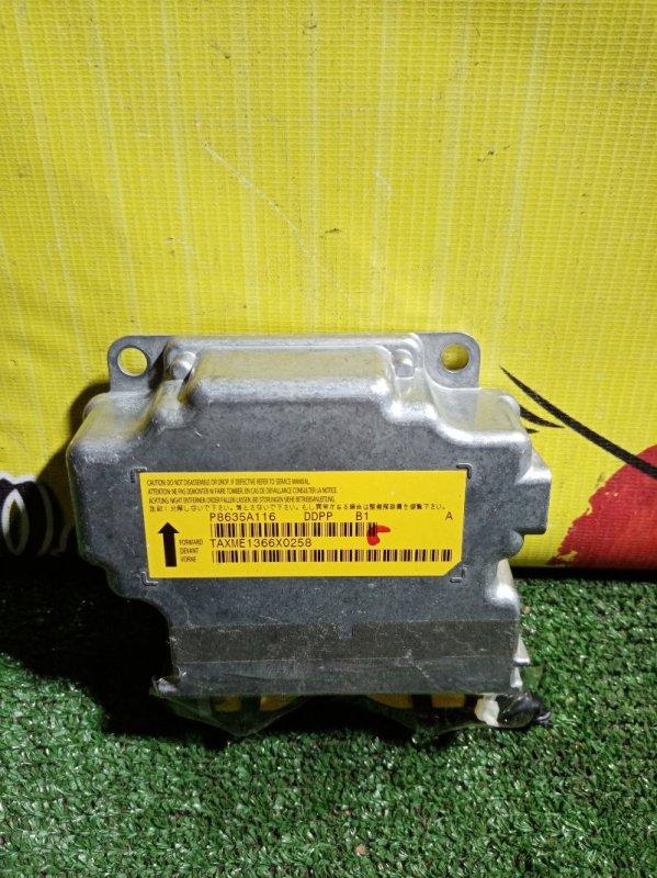 Блок управления airbag Mitsubishi Outlander CW5W 4B12 2007 (б/у)