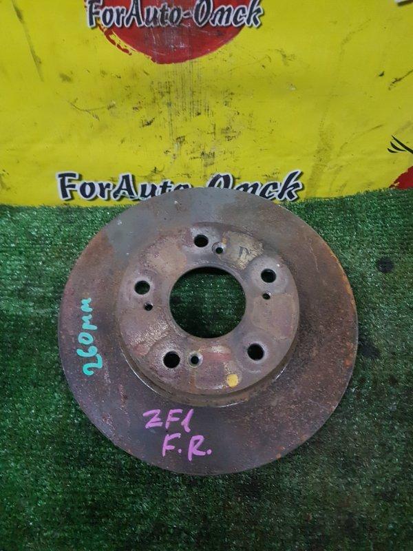 Диск тормозной Honda Cr-Z ZF1 передний (б/у)