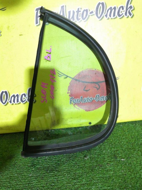 Стекло двери (форточка) Toyota Platz SCP11 1SZ-FE 2000 заднее левое (б/у)