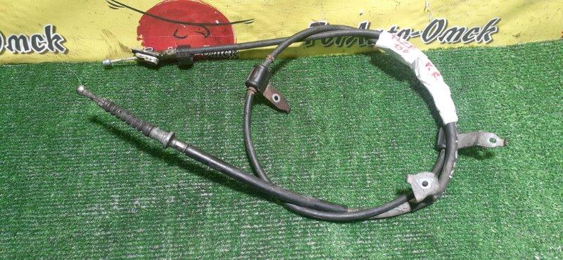 Тросик ручного тормоза Toyota Blade AZE156 правый (б/у)