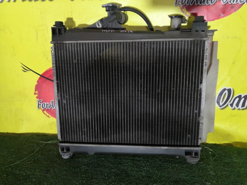 Радиатор двс Toyota Bb NCP10 1NZ-FE (б/у)