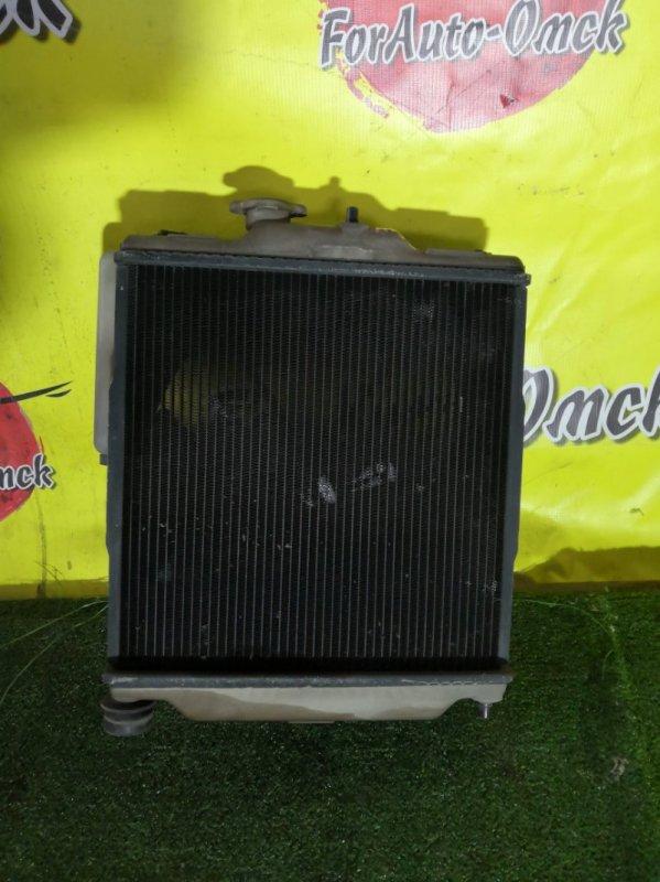 Радиатор двс Honda Logo GA3 D13B (б/у)