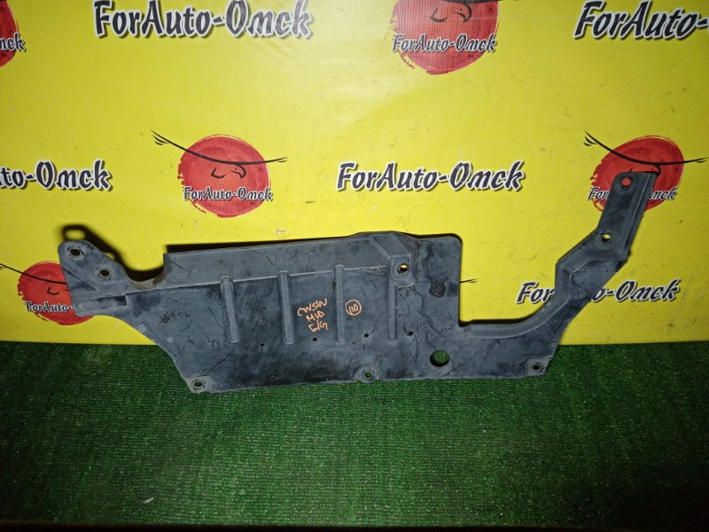 Защита двигателя Mitsubishi Outlander CW5W 4B12 2005 (б/у)
