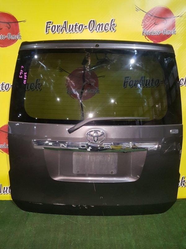 Дверь 5-я Toyota Noah ZRR70G задняя (б/у)