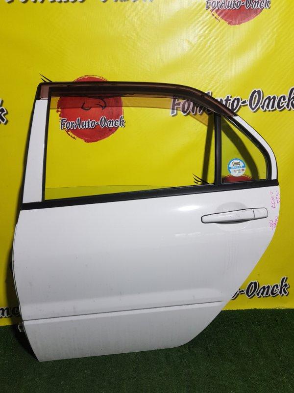 Дверь Mitsubishi Lancer CS2A 4G15 задняя левая (б/у)