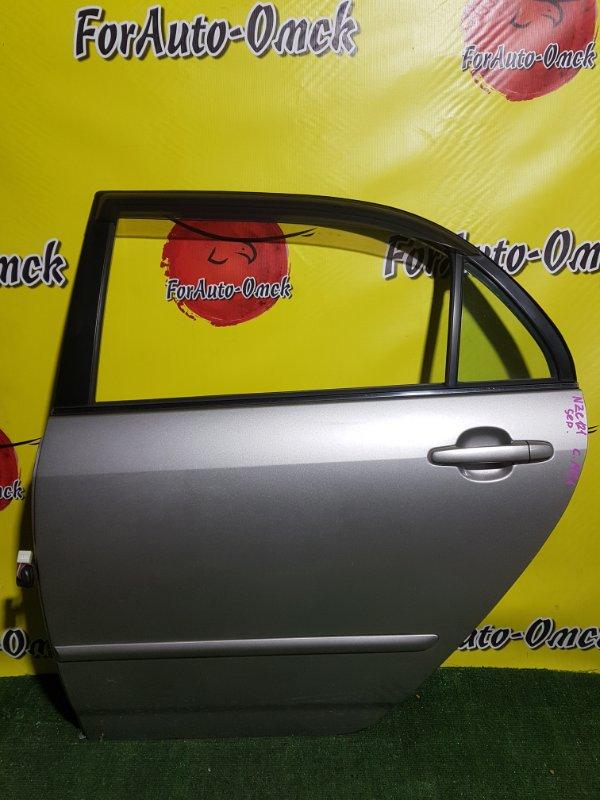 Дверь Toyota Corolla CE121 задняя левая (б/у)
