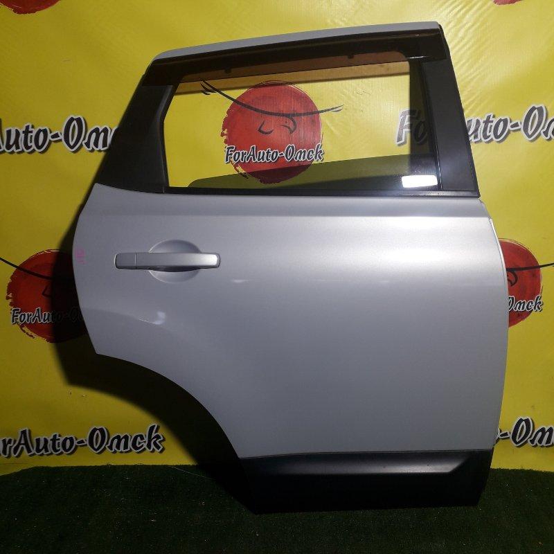 Дверь Nissan Dualis J10 задняя правая (б/у)