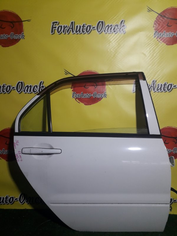 Дверь Mitsubishi Lancer CS2A 4G15 задняя правая (б/у)