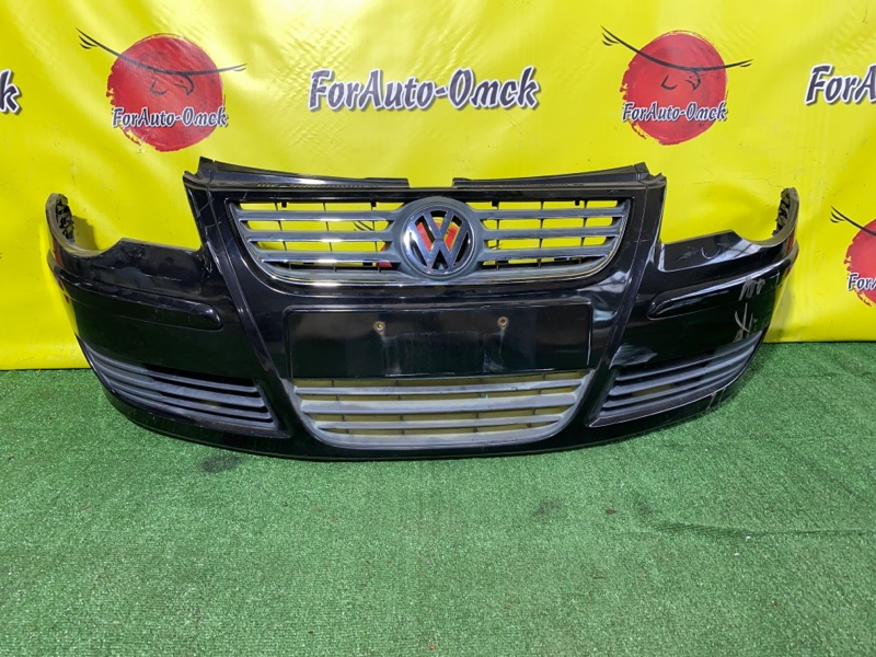 Бампер Volkswagen Polo MK4 передний (б/у)