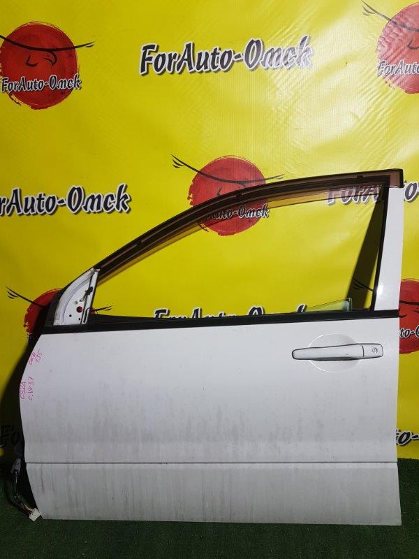 Дверь Mitsubishi Lancer CS2A 4G15 передняя левая (б/у)