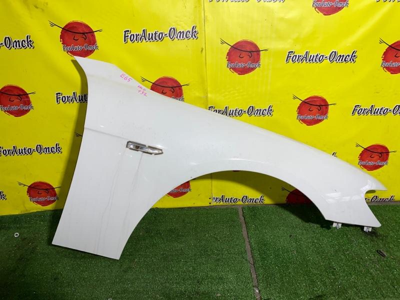 Крыло Bmw 7-Series E65 N62B40A 2007 переднее правое (б/у)