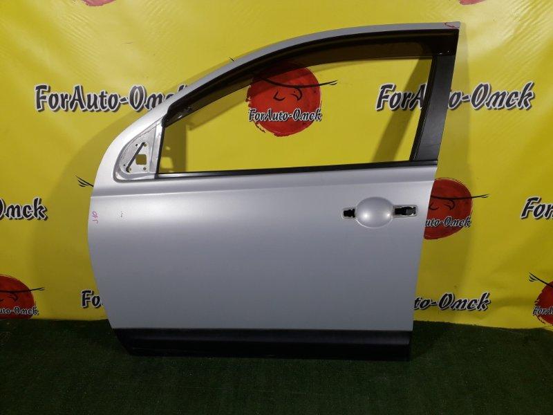 Дверь Nissan Dualis J10 передняя левая (б/у)