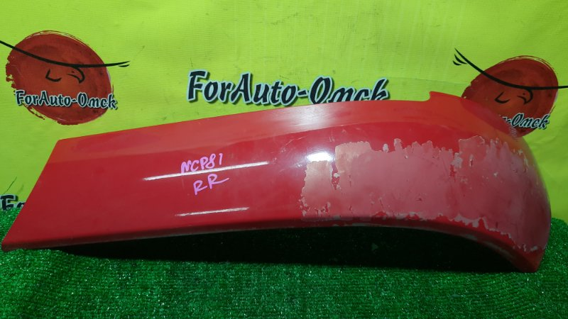 Накладка на крыло Toyota Sienta NCP81G задняя правая (б/у)