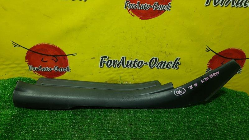 Накладка на порог салона Toyota Corolla Runx NZE124 1NZ-FE 2004 задняя правая (б/у)