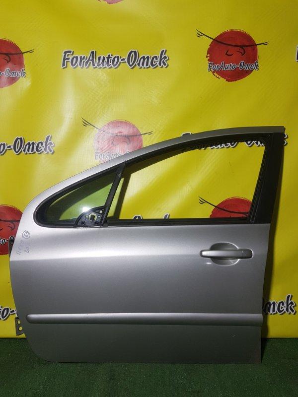 Дверь Peugeot 307 3A/C EW10AF 2009 передняя левая (б/у)