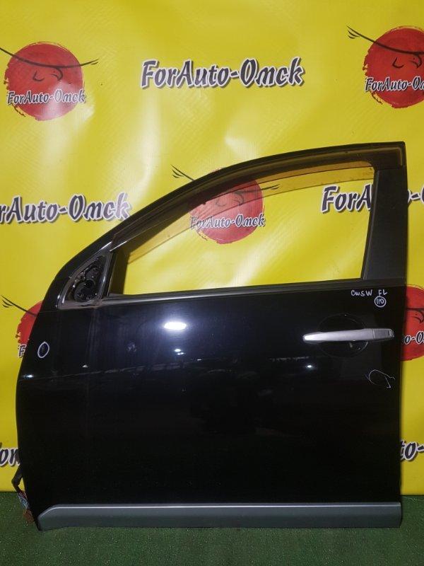 Дверь Mitsubishi Outlander CW5W 4B12 2005 передняя левая (б/у)