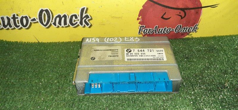Блок управления efi Bmw X3 E83 M54B25 2004 (б/у)