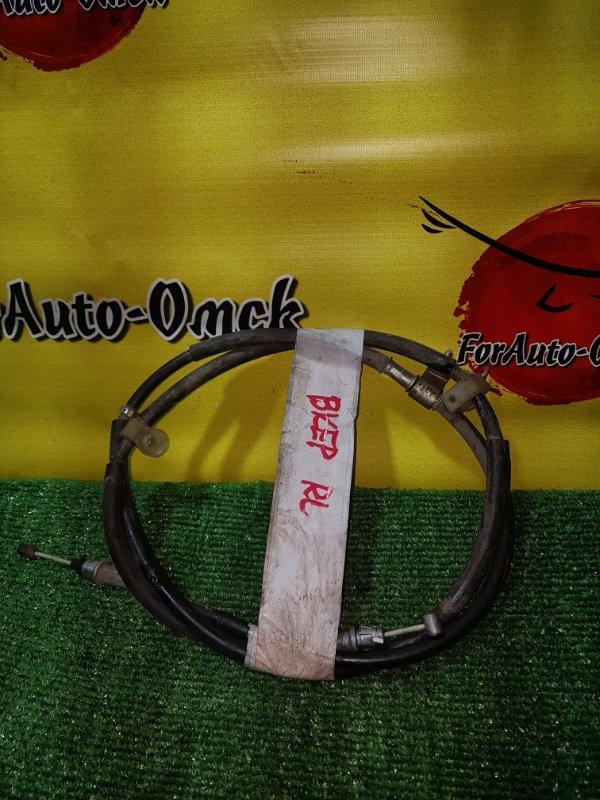 Тросик ручного тормоза Mazda Axela BK3P задний левый (б/у)