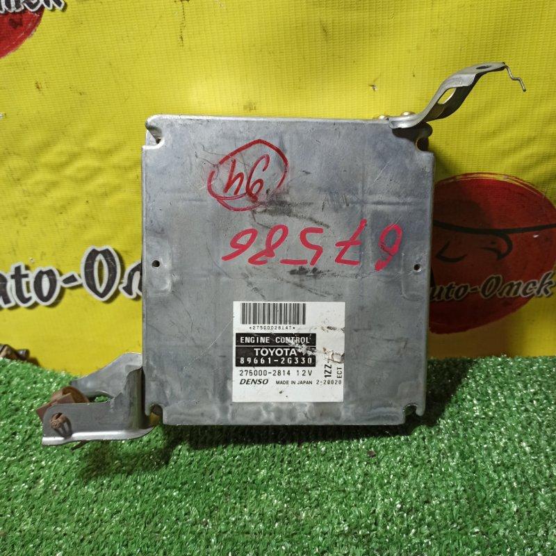 Блок управления efi Toyota Premio ZZT240 1ZZ-FE 2004 (б/у)