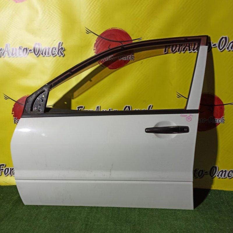 Дверь Mitsubishi Lancer CS2V 4G15 2000 передняя левая (б/у)