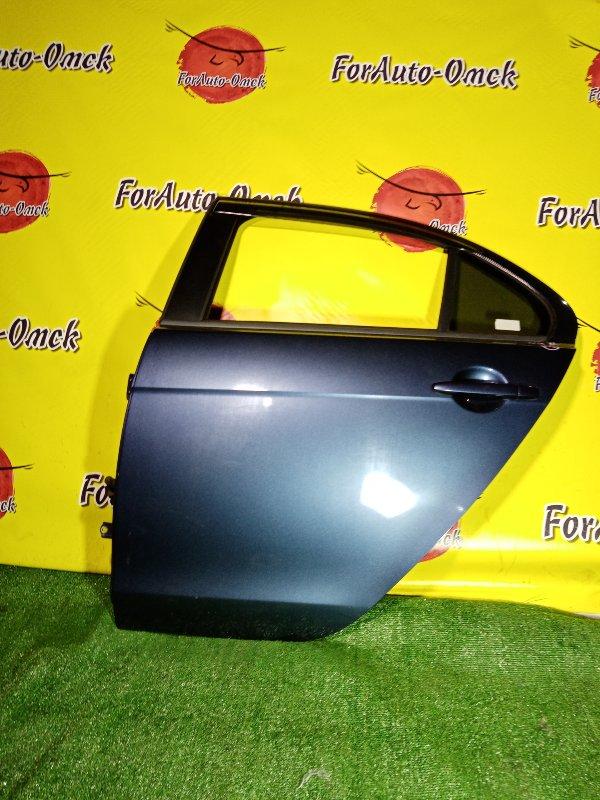 Дверь Mitsubishi Galant Fortis CY3A 4B10 2010 задняя левая (б/у)