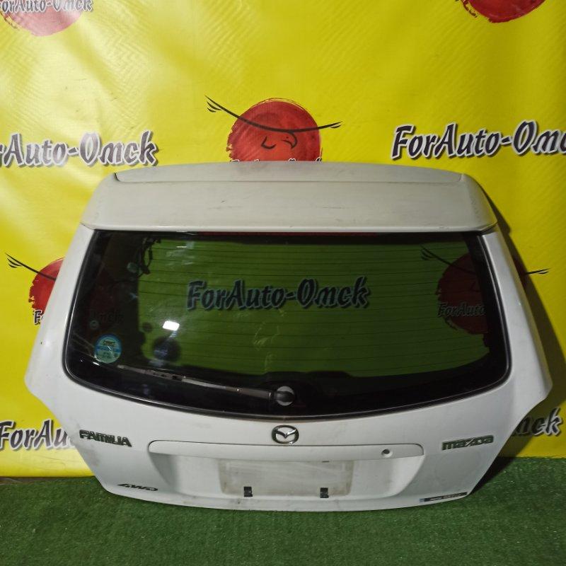 Дверь 5-я Mazda Familia BJ8W FP-DE 1999 (б/у)