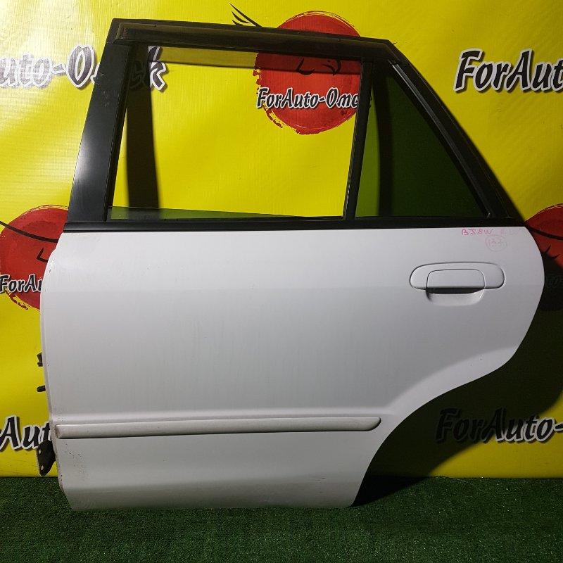 Дверь Mazda Familia BJ8W FP-DE 1999 задняя левая (б/у)