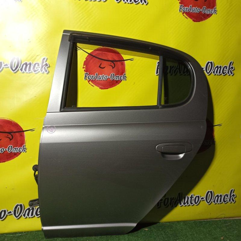 Дверь Toyota Vitz SCP13 2SZ-FE 2003 задняя левая (б/у)