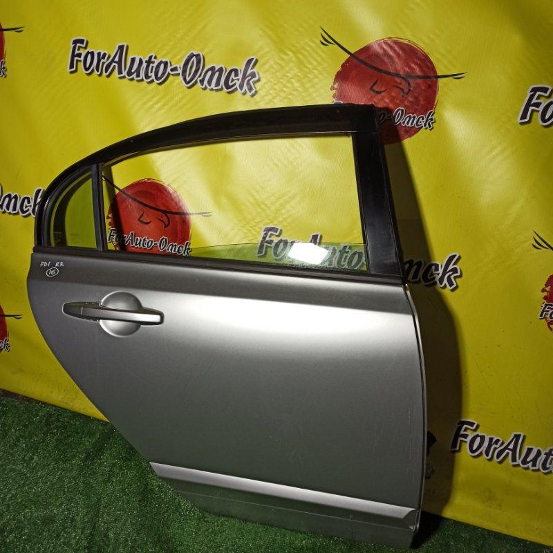 Дверь Honda Civic FD1 R18A 2005 задняя правая (б/у)